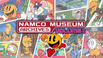 GAMEREVIEW Doorstaan gameklassiekers tand des tijds? Namco Museum Archives zappen je terug naar het lunapark