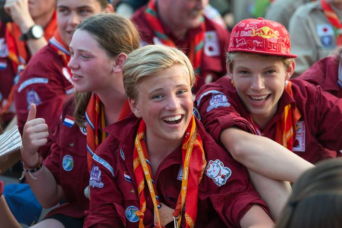 De 23e editie van de de World Scout Jamboree in Japan in 2015.