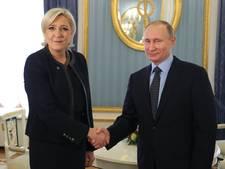 'Rusland bemoeit zich actief met Franse verkiezingen'