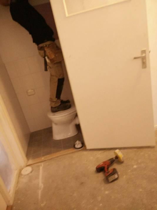 Toiletpot geeft steun