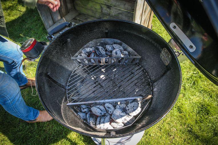 Creëer meerdere hittezones in je barbecue.