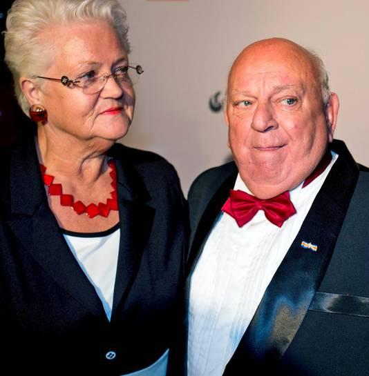 Bas en zijn vrouw Coby.