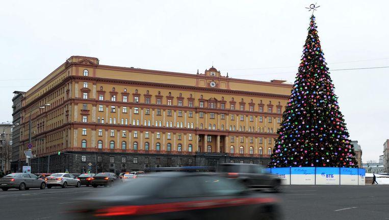 Hoofdgebouw van de FSB. Beeld AFP
