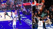 'Vijandige' fans moedigen hem aan, om te dunken moet hij amper opveren: NBA heeft er met reus van 2m31 een stevige attractie bij