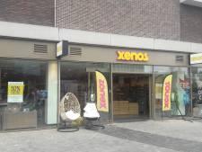 Xenos vertrekt van Eemplein, interieurwinkel komt