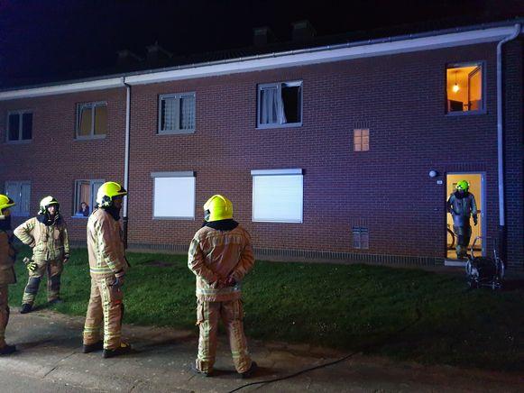 De brand zorgde voor veel rookontwikkeling in de woning.