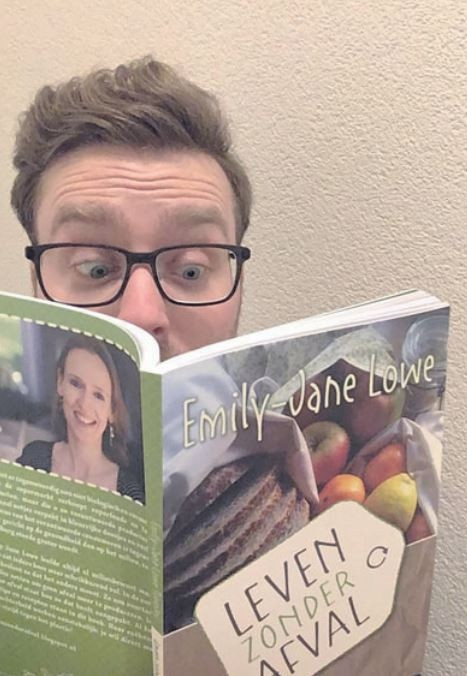 In het startpakket zat een compleet boek: 'Leven zonder afval'.