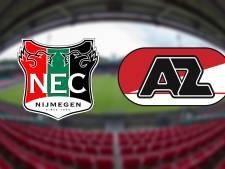 LIVE: NEC heeft maar één optie tegen Jong AZ