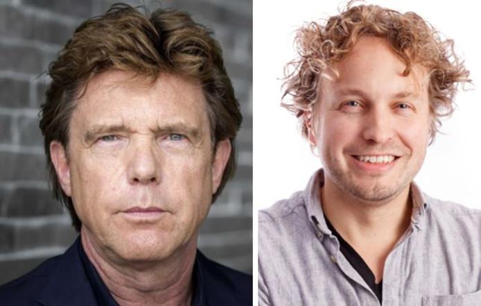 John de Mol trekt zijn beste begrafenisgezicht voor het programma 'Laat je niet kisten!', columnist Niels Herijgens vreest een draak of een roast.