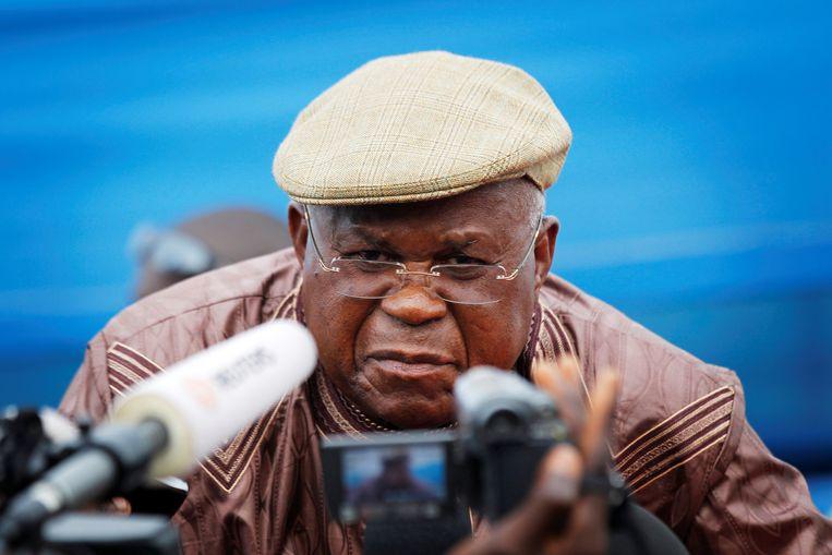 Etienne Tshisekedi (archiefbeeld)