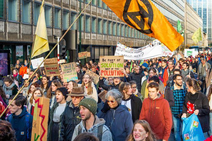 Bruxelles, ce vendredi 29 novembre.