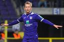 Michel Vlap heeft gescoord voor Anderlecht: ,,Mogelijk ben ik straks met mijn 23 jaar dus een van de routiniers van het elftal.''