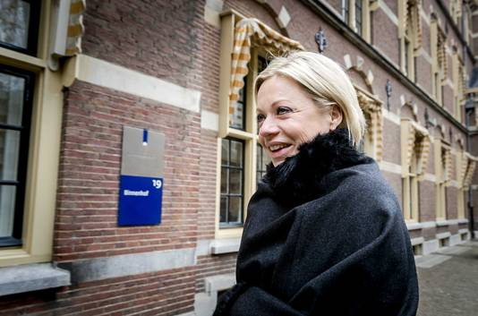 Minister Jeanine Hennis Plasschaert van Defensie.