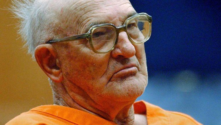 Edgar Ray Killen in de rechtbank in Philadelphia, Mississippi, 2005. Beeld ap