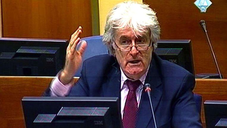 Radovan Karadzic Beeld AFP