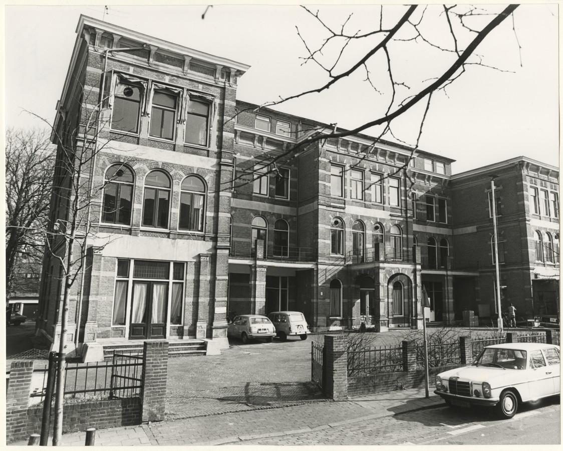 Het RID aan de Parkweg in 1978.