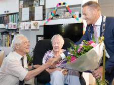 Het begon met een bevrijdingsfeest, nu zijn Wijnand en Dini Konings-Rosenbrand zestig jaar getrouwd