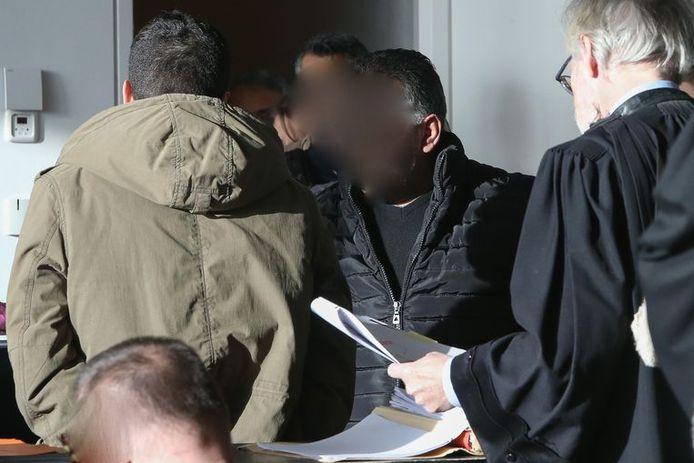 Een van de veroordeelde mensensmokkelaars.