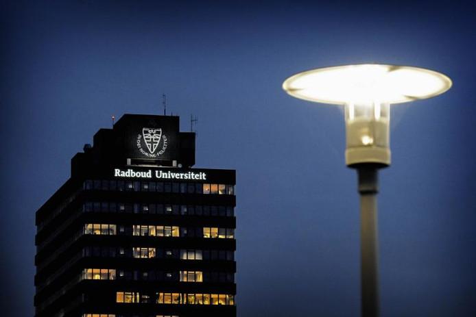 De Radboud Universiteit in Nijmegen.