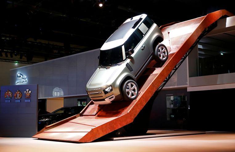 De voorstelling van Jaguar Land Rover Defender 90 in Frankfurt