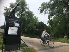 Fietstelpaal doet bijna weer wat hij moet doen: fietsen tellen