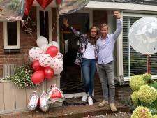 Veenendaals stel krijgt huwelijk cadeau van dj's Mattie & Marieke: 'Het is zo onwerkelijk'