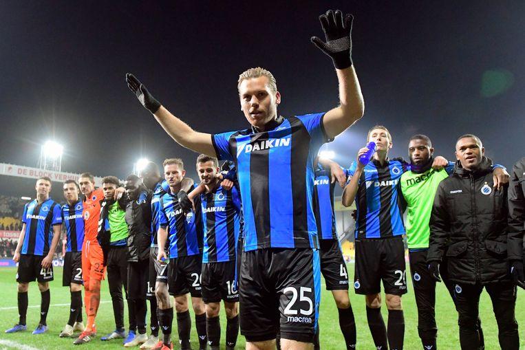 Vormer op Daknam de matchwinnaar voor Club Brugge.