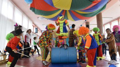 Tchoukbal en circustechnieken tijdens sportkampen