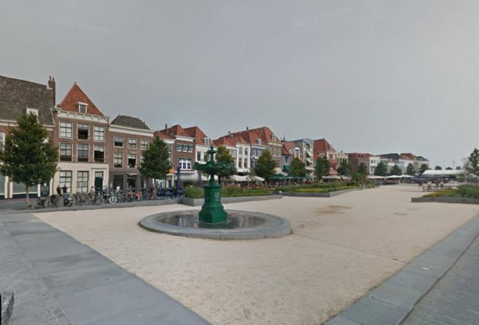 Het Bellamypark in Vlissingen.