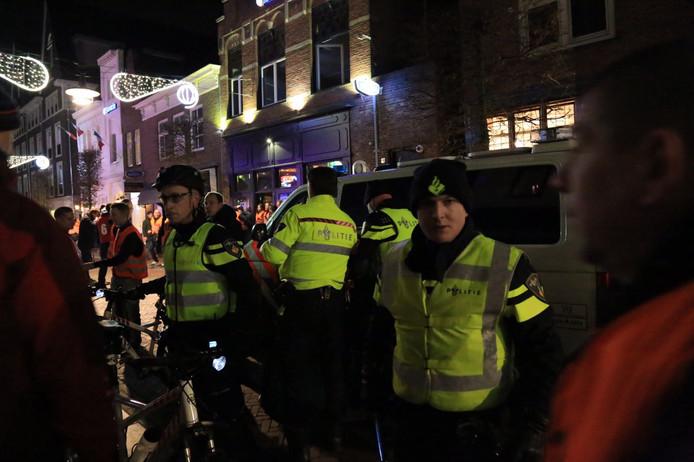 Maandagavond vond aan de Steenweg en op het Havenplein een grootschalige politie-oefening plaats.