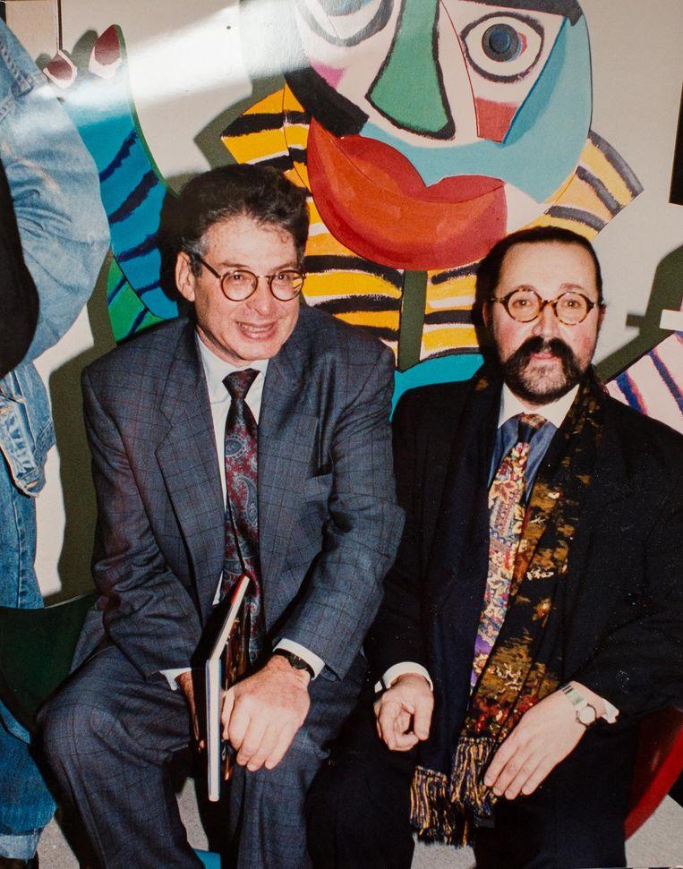 Met toenmalig burgemeester Ed van Thijn Beeld Mats van Soolingen
