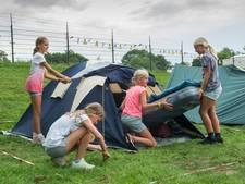 Een nachtje zonder ouders op de Kids Camping in 't Harde