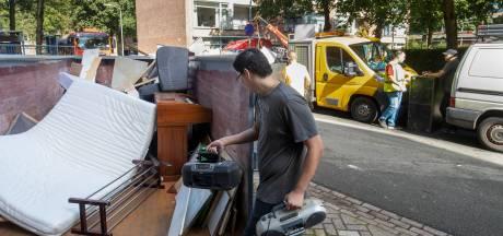 Met de hele flat opruimen: opschoondag geldt als startsein van grote renovatie