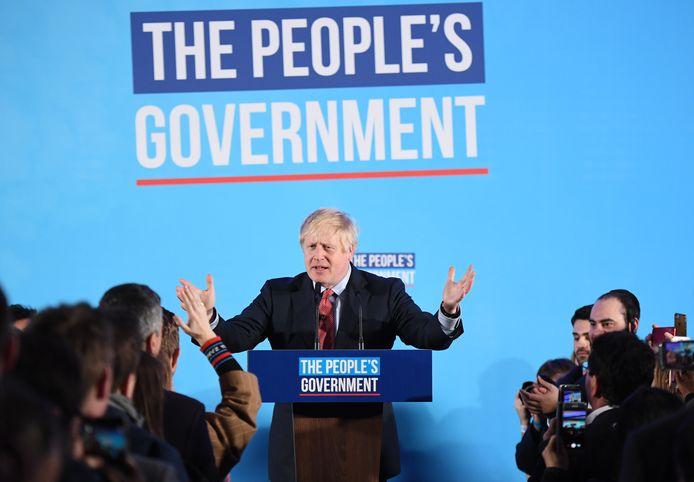 De triomf van Boris Johnson: een regering van het volk.