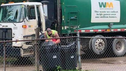 Elke week staat autistisch jongetje (6) te wachten op zijn beste vrienden: de vuilnismannen