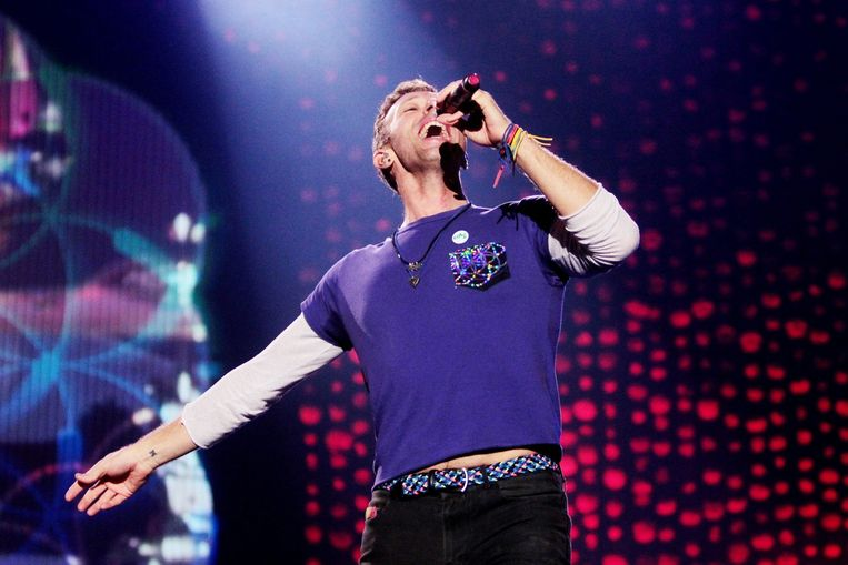 Coldplay-zanger Chris Martin Beeld anp