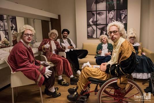 De artiesten van het Toverbaltheater traden ook al op in DeLaMar.