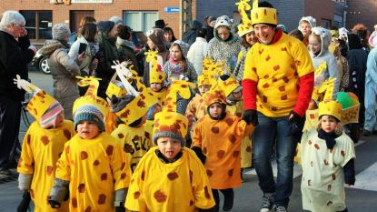 Basisschool Sint-Vincentius viert carnaval