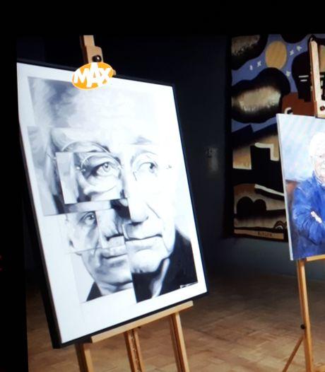 Udense Tjeerd Zwinkels maakt mooiste portret in Sterren op het Doek