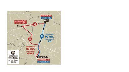 Mobiliteit in Limburg: geraak je vlot van Noord naar Zuid... zonder wagen?