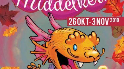 Tijdens de herfstvakantie wordt Middelkerke een drakendorp