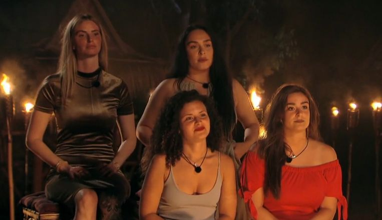 Vrouwelijke koppelhelften Temptation Island