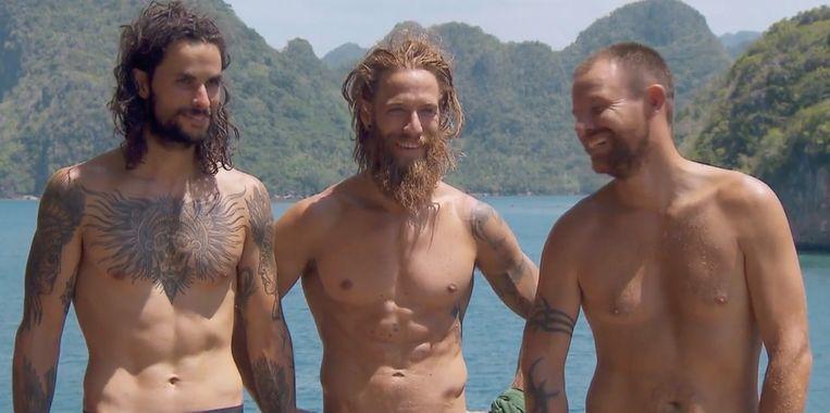 Elroy, Thomas en Koen speelden de finale van 'Expeditie Robinson'