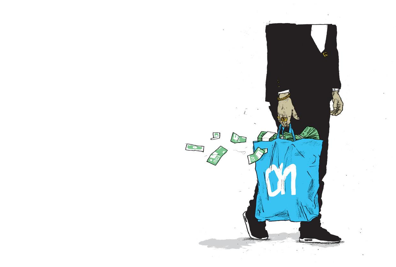 Het eeuwenoude informele hawala-banksysteem is onder criminelen zeer geliefd omdat het geen papieren sporen nalaat. Beeld Gijs Kast
