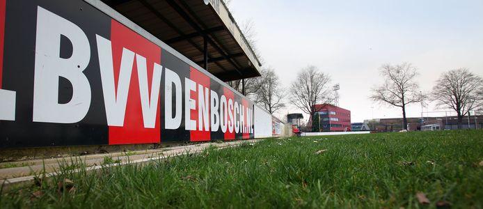De tribune van BVV Den Bosch