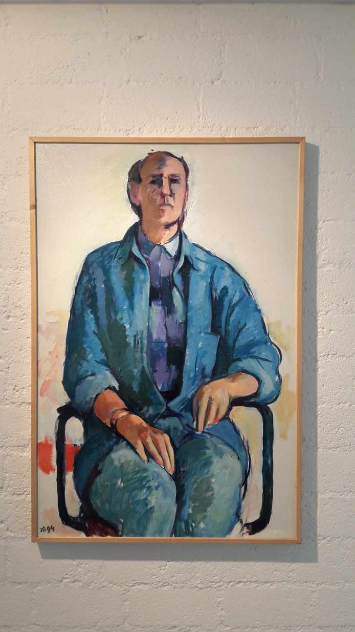 Zelfportret Antoon van Bakel.