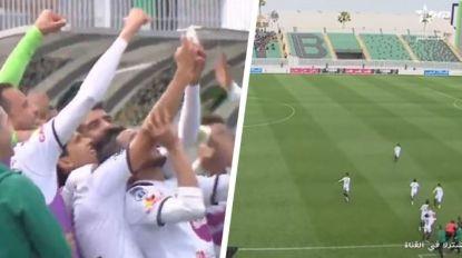 Marokkaanse eersteklasser krijgt de prijs voor meest pijnlijke viering van een goal ooit