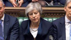 Brits parlement verwerpt massaal brexitdeal Theresa May: grootste nederlaag voor een Britse premier ooit