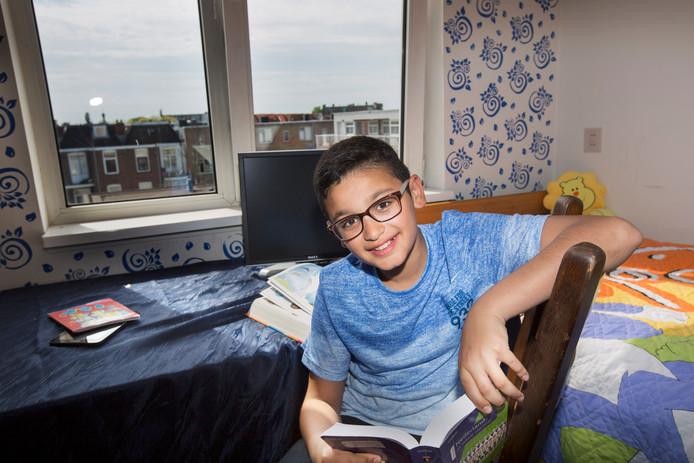 Mrwan Alsamawi haalde 550 punten op de Citotoets, ondanks dat hij nog maar 3,5 jaar in Nederland is.