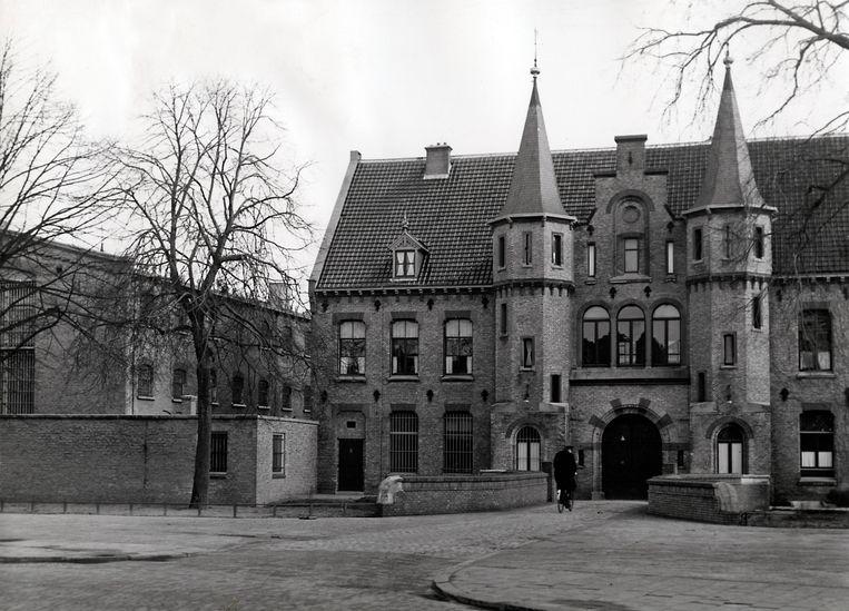 De Blokhuispoort in Leeuwarden, in 1944 het Huis van Bewaring dat werd overvallen om vijftig gevangenen van de Duitsers te bevrijden.  Beeld Hollandse Hoogte / Spaarnestad Photo